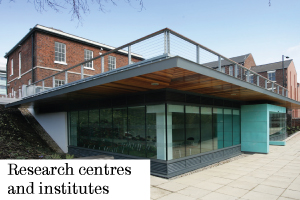 Find out about our research centres and institutes