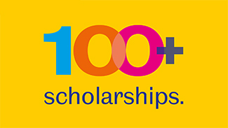 100 Plus Scholarships Image