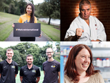 A collage of staff from the University of Sheffield