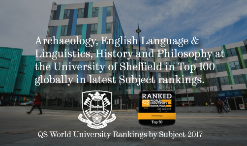 Sheffield ranked among 'world's elite' in QS World University Rankings by Subject 2017
