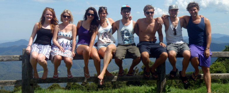 Student group in Australia