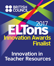 ELTons Awards 2017 Innovation in Teacher Resources Finalist