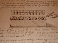A description of the Pascaline, a digital calculator invented by Pascal, in a letter from Sir Balthazar Gerbier to Samuel Hartlib, Paris, Oct 1648