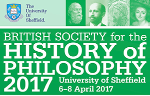 Logo for British Society for the History of Philosophy Conference