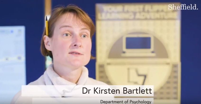 Dr Kirsten Barlett, Department of Psychology