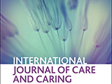 Cover of the International Journal of Care and Caring