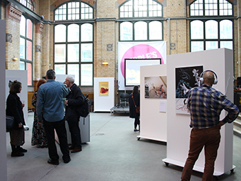Image of the Experiencing the Social Work World exhibition launch