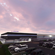 Boeing Sheffield – rendering only: design subject to change pending planning approval