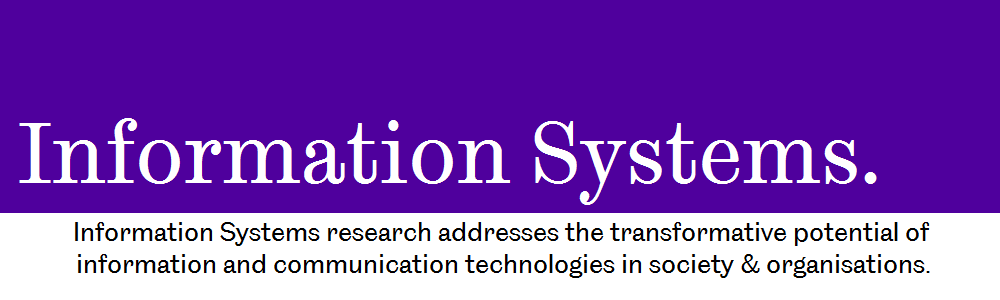 Information Systems banner