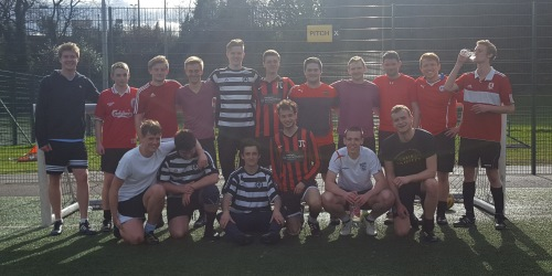 There was a great turnout of alumni for the annual football tournament
