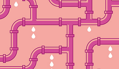 Water pipes illustration: Discover
