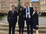 Mooting team in Vienna
