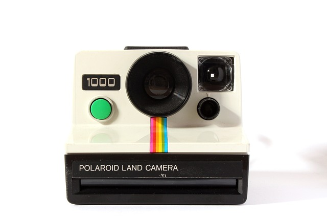 Image of a Polaroid Instant Camera