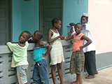 Image of children in Ghana