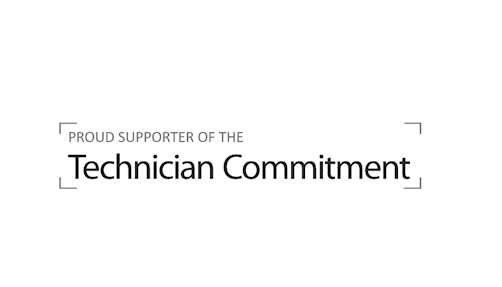 Proud supporter of the Technician Commitment
