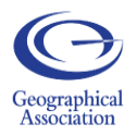 Badge of the geographical association