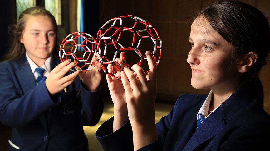Sir Harry Kroto Buckyball workshop