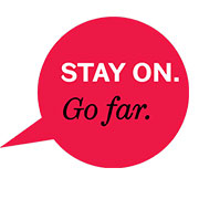 stay on go far logo