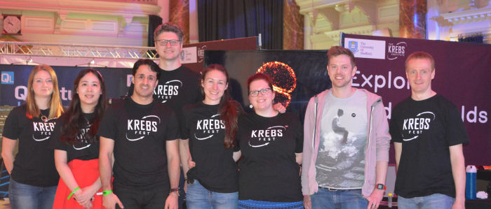 Krebs Fest on tour at Cheltenham science festival