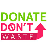 Donate Don't Waste logo