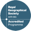 Accreditation from the RGS-IGB