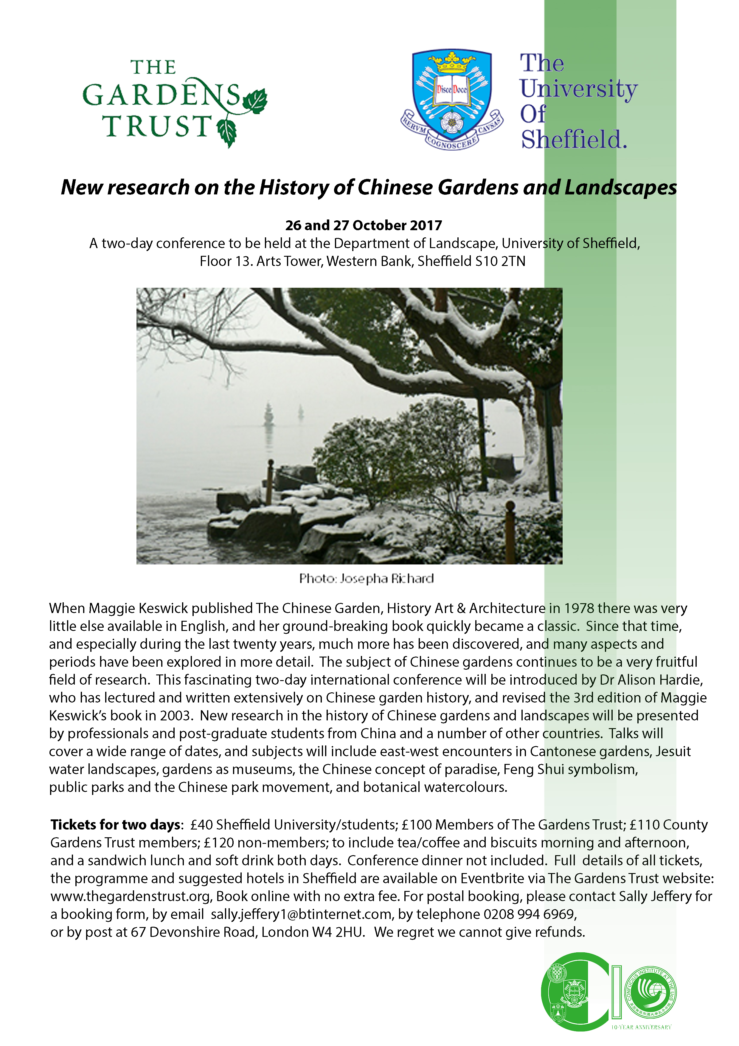 Conference: New Research On The History Of Chinese Gardens