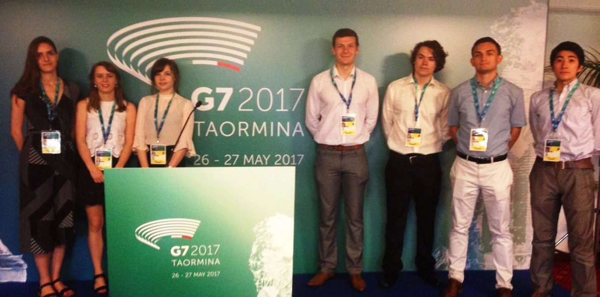 GLI Team at G7 in Taormina 2017