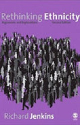 "Cover of book, ""Rethinking ethnicity"""