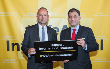 Paul Blomfield MP and Lord Bilimoria