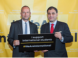 Paul Blomfield and Lord Bilimoria