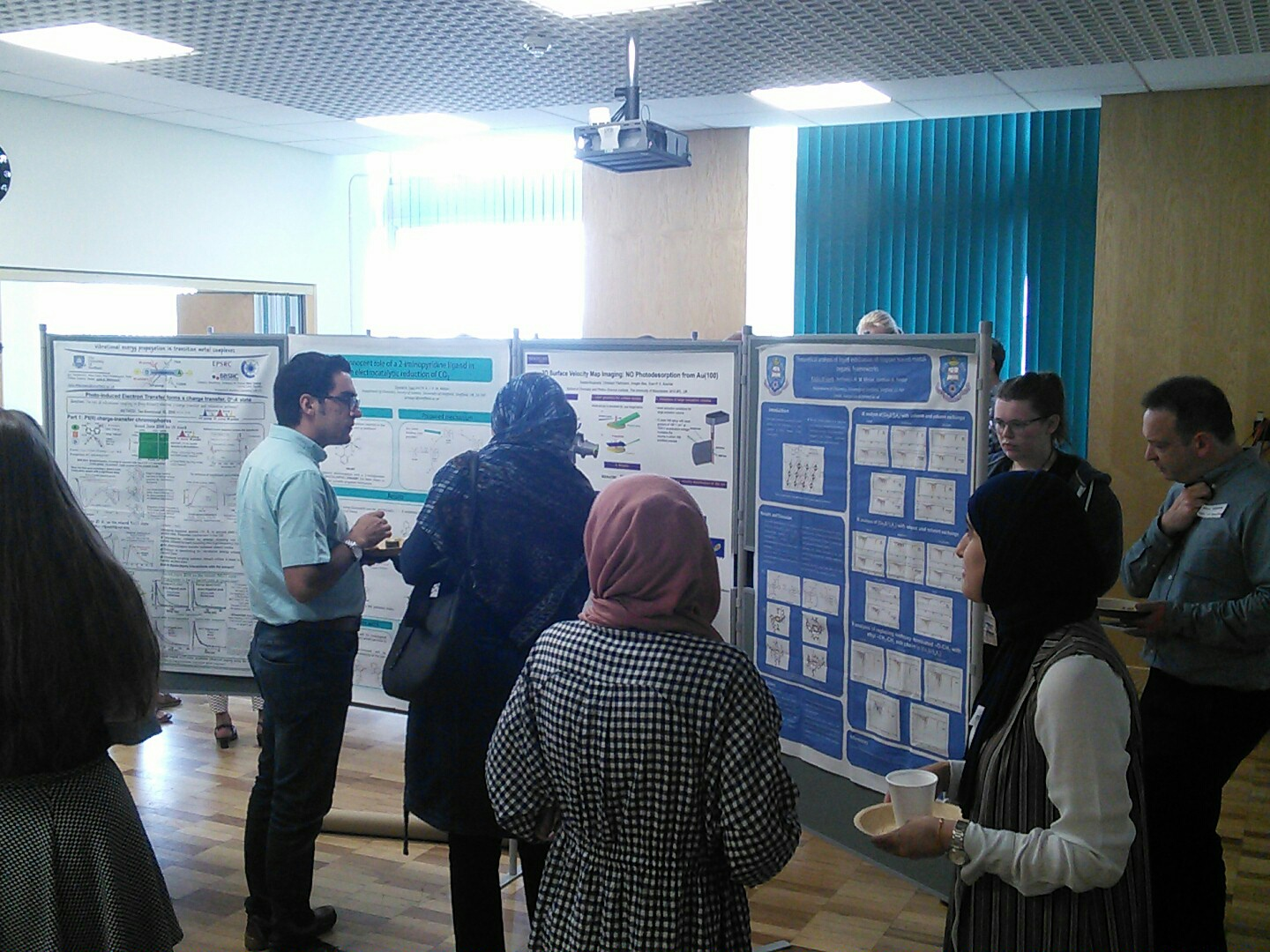 The poster session of ANUMOCP 27