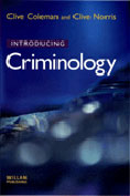 "Cover of book, ""Introducting Criminology"""