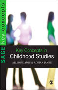 "Cover of book, ""Key Concepts in Childhood Studies"""