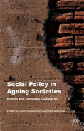 "Cover of book, ""Social Policy in Ageing Societies"""