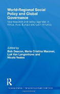 "Cover of book, ""World-Regional Social Policy and Global Governance"""
