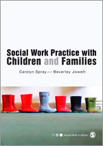 Book jacket: Social Work Practice with Children and Families