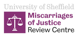 Miscarriages of Justice Review Centre logo