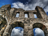 An image of a ruined castle. This article is about a new opportunity for postgraduates studying the