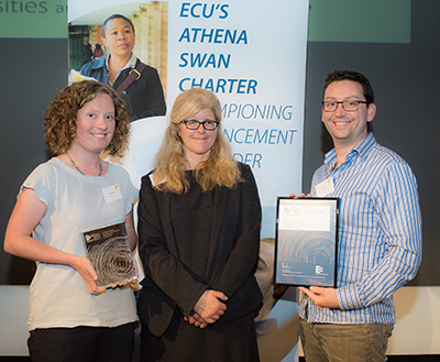 Presentation of MBB's Athena Swan Silver Award