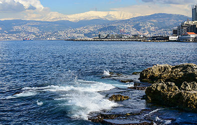 View of Lebanon