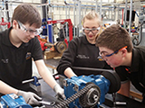 Image of apprentices in the AMRC