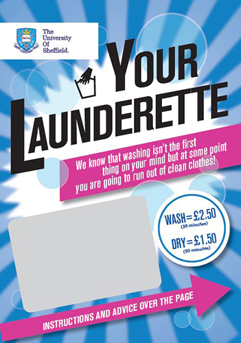 Ranmoor Endcliffe Laundry Leaflet