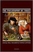 Philosophy of trust