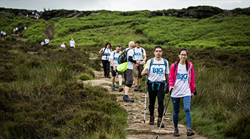 Big Walk 2017 Burbage
