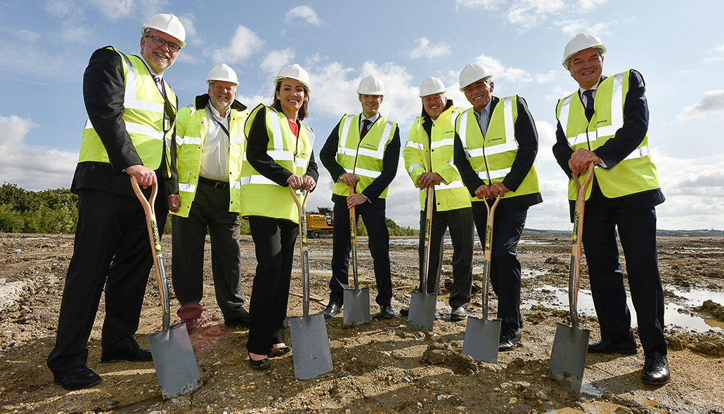 Boeing begins construction on its first European production facility in Sheffield