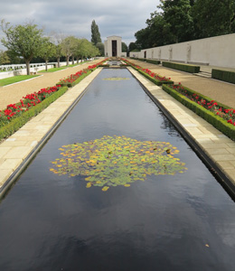 Cambridge American Cmetery and Memorial WW2 September 2015