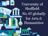 University of Sheffield in Top 100 for Arts and Humanities globally