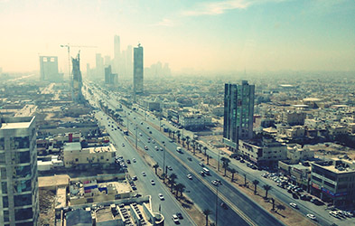 Saudi Arabia city views