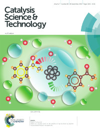 Marco Conte journal cover Catalysis Science and Technology 2017