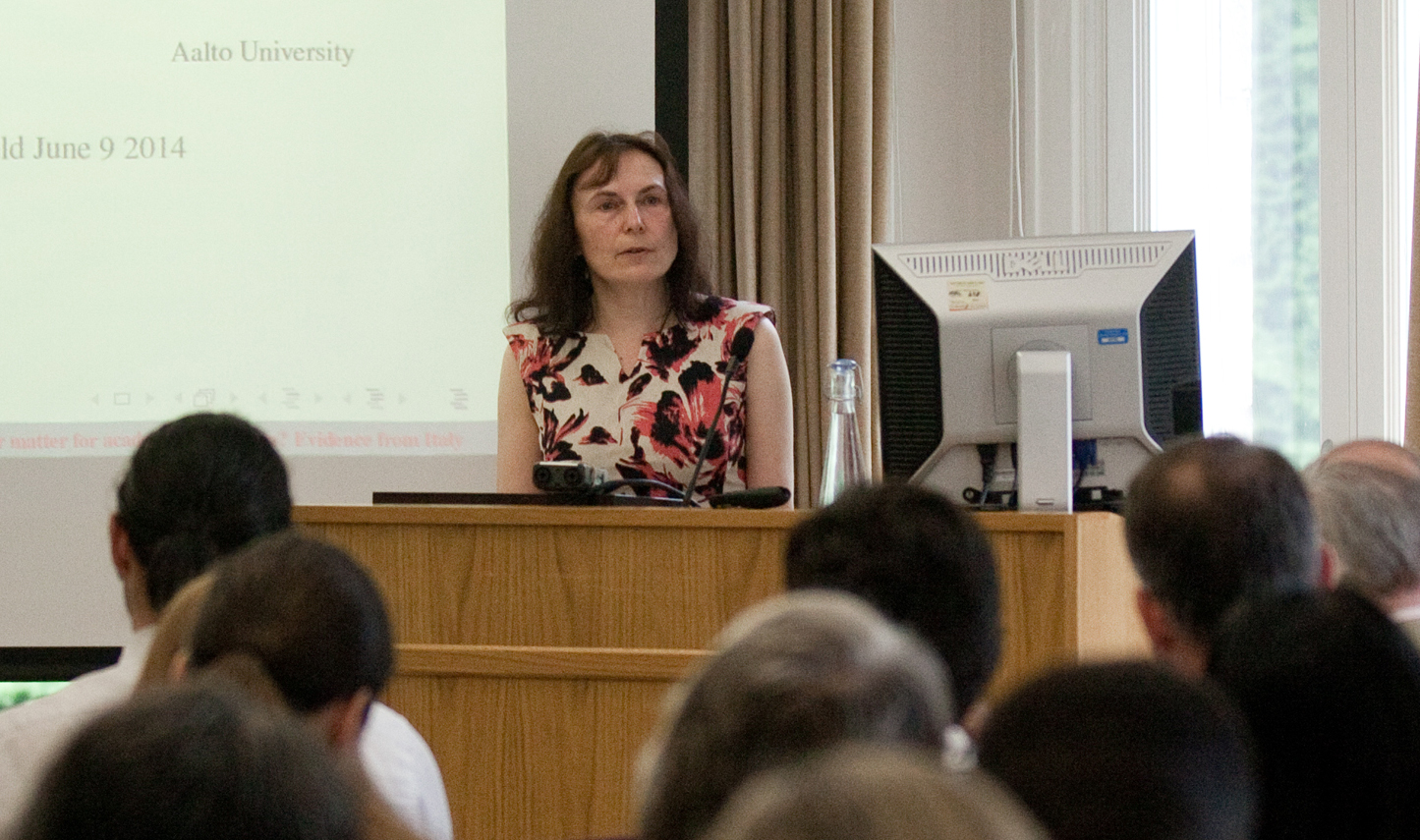 Photo of Professor Sarah Brown